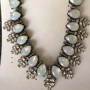 Opal Wreath Collar Necklace